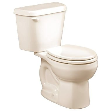 American Standard Colony 1.6 GPF Round Two-Piece Toilet; Linen