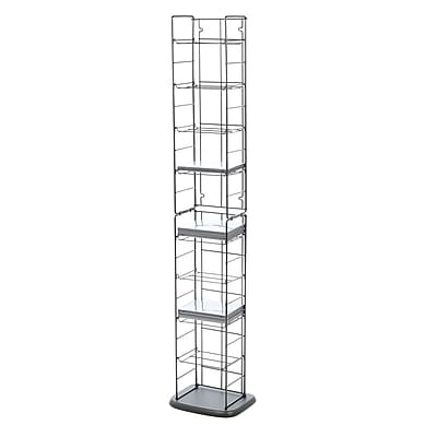 Atlantic Media Folding Multimedia Wire Rack WYF078279843971