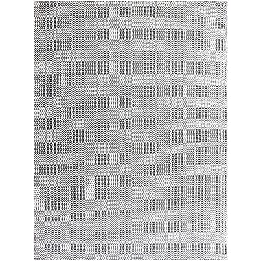 AMER Rugs Bella Hand-Tufted Charcoal Area Rug; Rectangle 5' x 8'