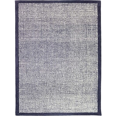 AMER Rugs Idina Hand-Tufted Navy Area Rug; Rectangle 7'6'' x 9'6''