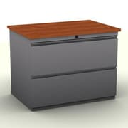 SNAP!office 2-Drawer Lateral File; Cherry