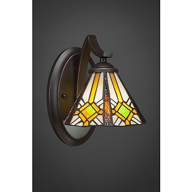 Toltec Lighting Zilo 1-Light Wall Sconce