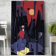 Mod Made 'Curiosity' Graphic Art on Wrapped Canvas; 28'' H x 20'' W x 1.5'' D