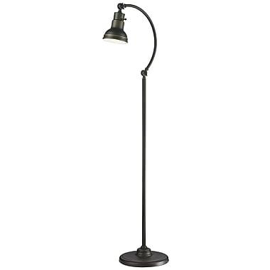 Z-Lite Ramsay 59'' Arched Floor Lamp; Olde Bronze