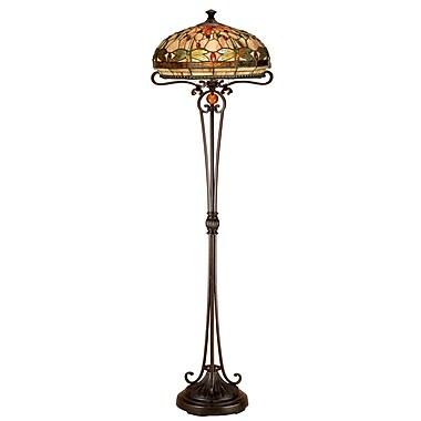 Dale Tiffany Briar Dragonfly 62.5'' Floor Lamp