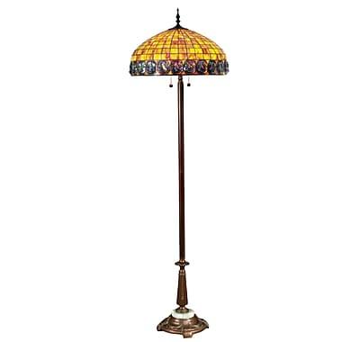 Dale Tiffany Turtleback 70'' Floor Lamp