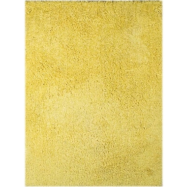 AMER Rugs Illustrations Yellow Area Rug; Rectangle 5' x 7'6''
