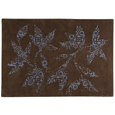 M.A. Trading Samarkand Hand-Tufted Brown Area Rug; 4'6'' x 6'6''