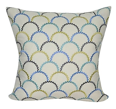 Loom and Mill Scallop Decorative Throw Pillow