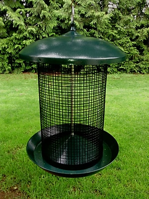 Zenport Sunflower Tube Bird Feeder (WYF078277689098) photo