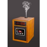 Dr. Infrared Heater 1,500 Watt Electric Infrared Cabinet Heater w/ Humidifier