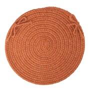 Wildon Home   Chanel  Chair Pad; Terra Cotta