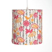 Sweet Potato by Glenna Jean Calliope Hanging 14'' Drum Pendant Shade