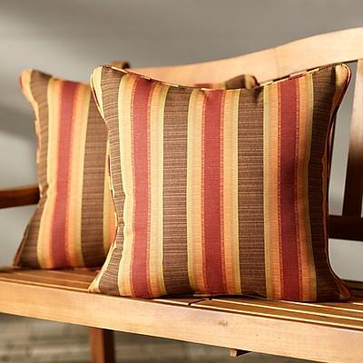 Darby Home Co Indoor/Outdoor Sunbrella Throw Pillow (Set of 2)