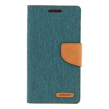 Mercury Canvas Diary Cell Phone Case for Galaxy S6
