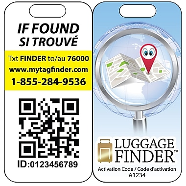 Diva – Luggage Finder, dispositif de repérage pour votre valise (L-085)
