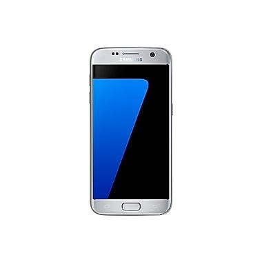 Samsung – Téléphone intelligent à verrouillage SIM Galaxy S7, 32 Go, 5,5 po, argent (SM-G930WZSAXAC)