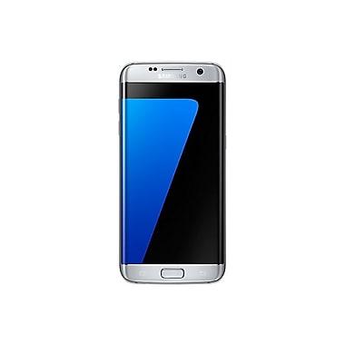 Samsung – Téléphone intelligent à verrouillage SIM Galaxy S7 edge, 32 Go, 5,5 po, argent (SM-G935WZSAXAC)