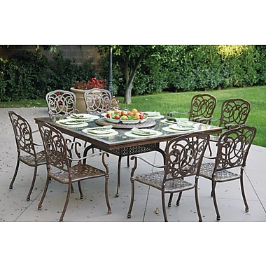 Astoria Grand Dolby Dining Table; Mocha