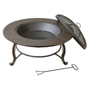 DeckMate Provincial Outdoor Steel/Iron Wood Fire Pit