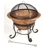 DeckMate Soleil Outdoor Metal Wood Fire Pit
