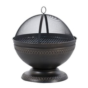 DeckMate Northpoint Outdoor Steel Wood Fire Pit