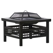 DeckMate Sonoma Outdoor Steel Wood Fire Pit