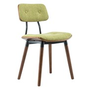 Porthos Home Warren Dining Side Chair (Set of 2); Green