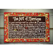 Glory Haus Marriage Painting on Canvas