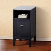 Bellaterra Home 16'' W x 32.3'' H Cabinet; Espresso
