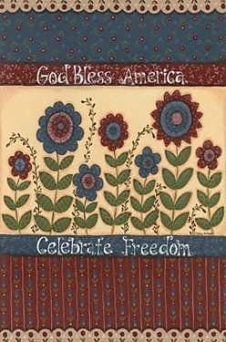 The Cranford Group God Bless America - Celebrate Freedom Garden Flag