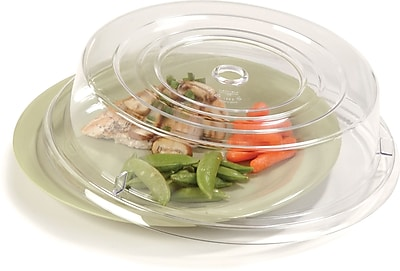Carlisle Clear Plate Cover 10-3/4 to 11