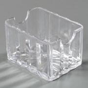 Carlisle  Crystalite® Sugar Caddy (holds 20 pkts), Clear (454907)