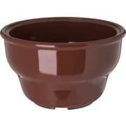 Carlisle  Melamine Deep Salsa Bowl Ramekin, 8 oz, Lennox Brown (455328)
