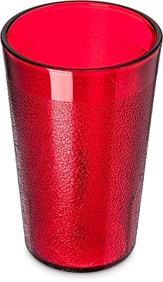 Carlisle Stackable™ SAN Plastic Tumbler, 9.5 oz, Ruby (550610)