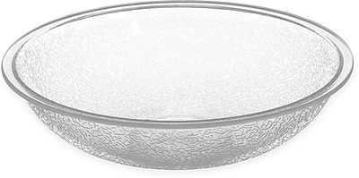 Carlisle Round Pebbled Bowl, 19.2 oz, Clear (720607)
