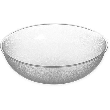 Carlisle Round Pebbled Bowl, 11 qt, Clear (721507)