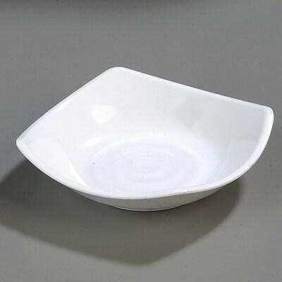 Carlisle Melamine Flared Rim Square Dish Bowl, 5.25