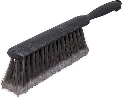 Carlisle Flo-Pac® Counter/Bench Brush With Flagged Polypropylene Bristles, 8
