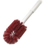 "Carlisle  Sparta® Multi-Purpose Valve & Fitting Brush, 16"" Long /4"" D, Red (4000505)"