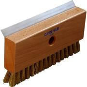 "Carlisle  Oven Brush & Scraper w/Brass Wire Bristles (head only), 8-1/2"" (4029100)"