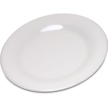 Carlisle Durus® Melamine Salad Plate Wide Rim, 7.5