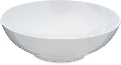 Carlisle Epicure® Melamine Chef Salad Serving Bowl, 40 oz, White (4381302)