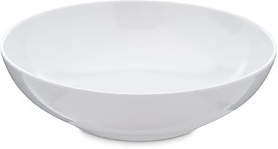 Carlisle Epicure® Melamine Soup Salad Broth Bowl, 19.2 oz, White (4381402)
