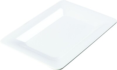 Carlisle Designer Displayware™ Wide Rim Rectangle Platter, 14