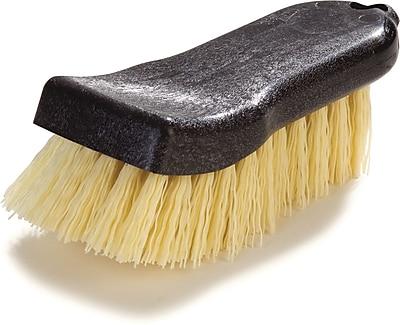 Carlisle Sparta® Curved Back Hand Scrub Utility Brush With Polypropylene Bristles, 6