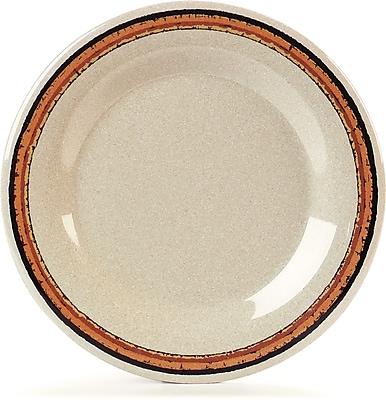 Carlisle Durus® Melamine Wide Rim Dinner Plate, 10.5