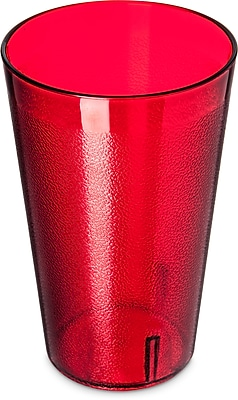 Carlisle Stackable™ SAN Tumbler, 32 oz, Ruby (5232-8210)