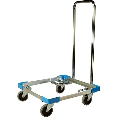 Carlisle E-Z Glide™ Open Aluminum Dolly With Handle, 20.63