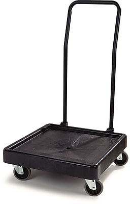 Carlisle E-Z Glide™ Warewashing Rack Dolly with Handle, 22.5